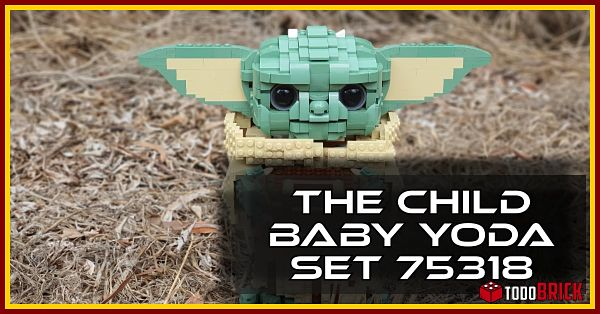 LEGO 75318 The Child Baby Yoda