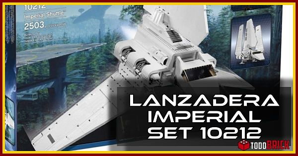 Lanzadera Imperial Star Wars set LEGO 10212