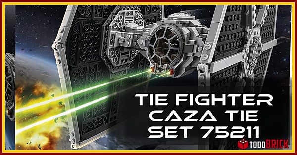 Caza TIE LEGO 75211 TIE Fighter