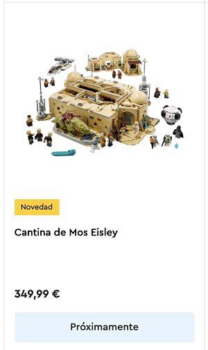 LEGO 75290 Cantina de Mos Eisley fecha de lanzamiento