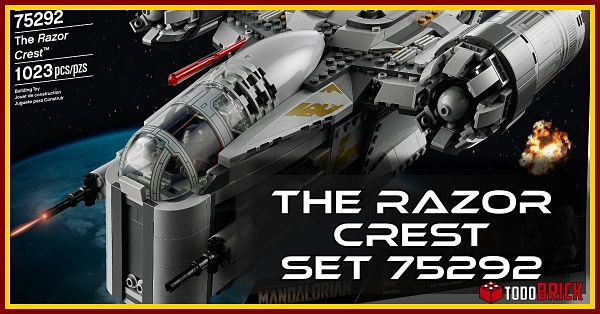 Set LEGO Star Wars 75292 The Razor Crest