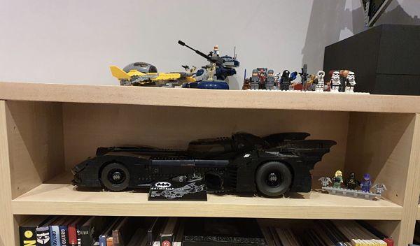 LEGO Batwing 76161 y LEGO Batmobile 76139