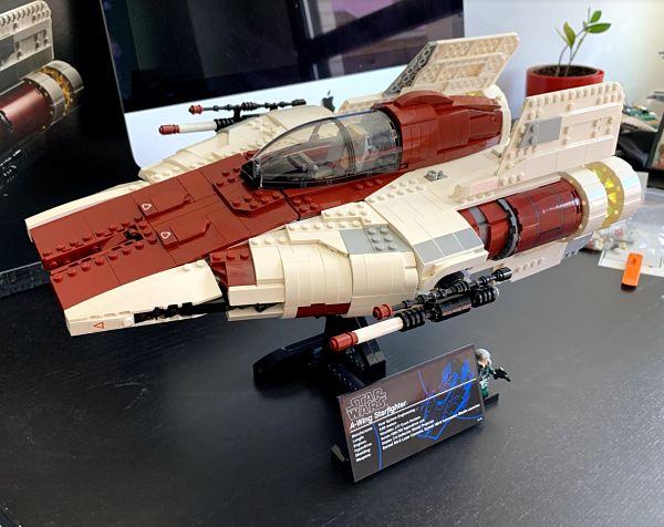 El A Wing es uno de los mejores regalos de LEGO estas navidades
