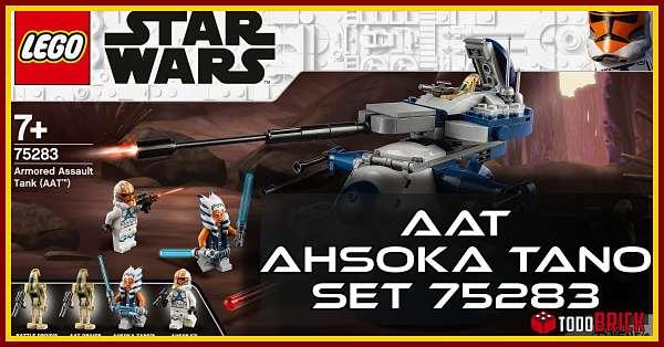 LEGO Star Wars 75283 AAT con Ahsoka Tano