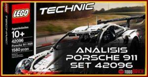 Análisis Porsche 911 RSR de LEGO 42096