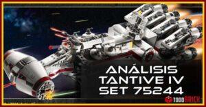 Ánalisis de LEGO Tantive IV set 75244