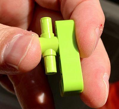 Diferentes tonalidades de verde en el set 42115 Lamborghini