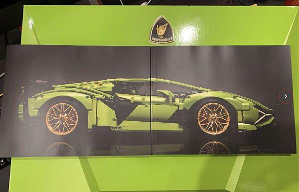 Instrucciones del set LEGO 42115 Lamborghini Sian