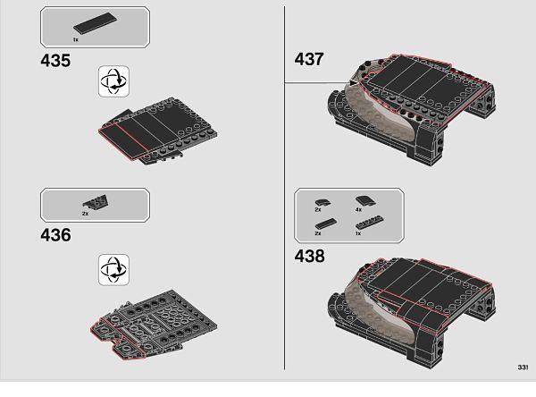 LEGO 76139 Batmovil 1989 modificaciones en el techo