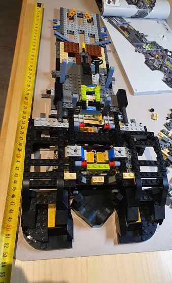 LEGO Montaje del Batmobile 1989