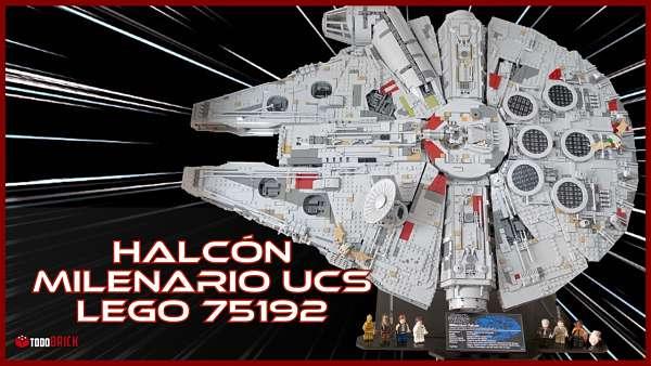 Analisis del LEGO Star Wars mas grande el Halcon Milenario set 75192