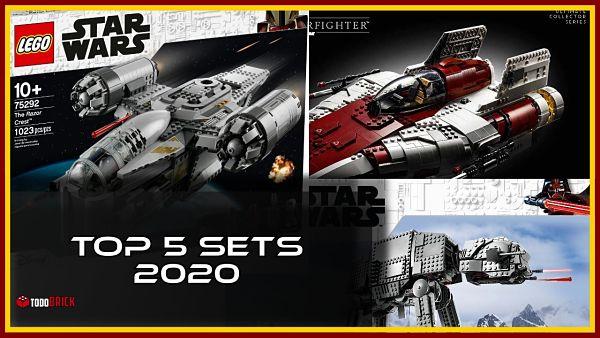 Los mejores 5 sets de LEGO Star Wars de 2020