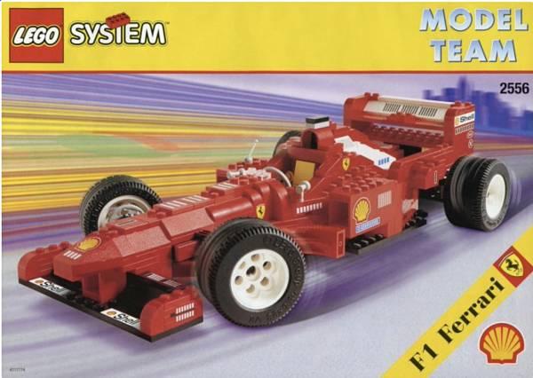 El primer Ferrari de LEGO System