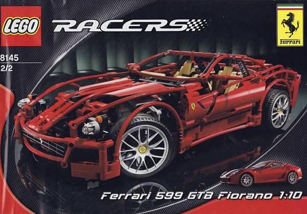 Ferrari de LEGO 599 GTB Fiorano set 8145
