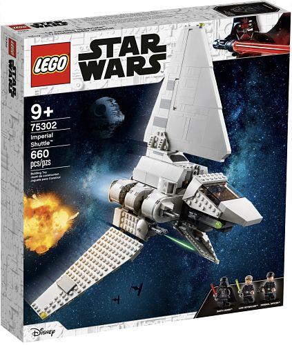 Nueva lanzadera imperial set 75302 de LEGO Star Wars