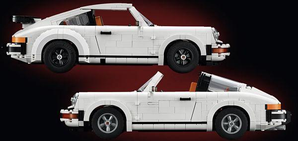 Porsche 911 Turbo o Porsche 911 Targa de LEGO 10295