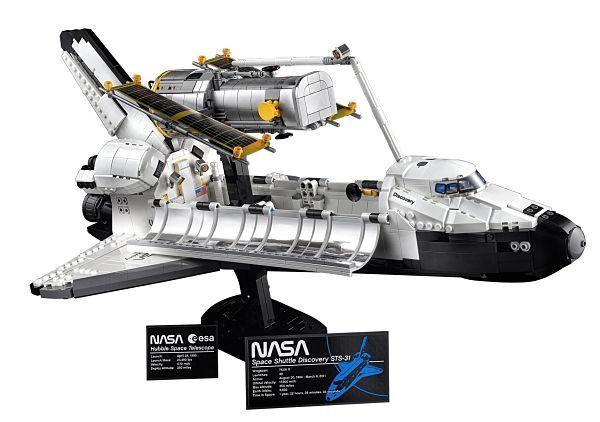 LEGO 10283 Transbordador Espacial Discovery y Telescopio Hubble