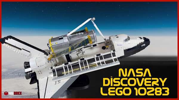 LEGO Discovery transbordador espacial 10283   Armando la discovery de LEGO 10283