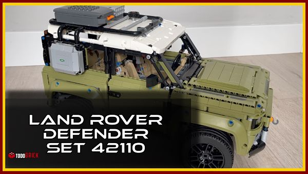 Land Rover Defender LEGO Technic 42110