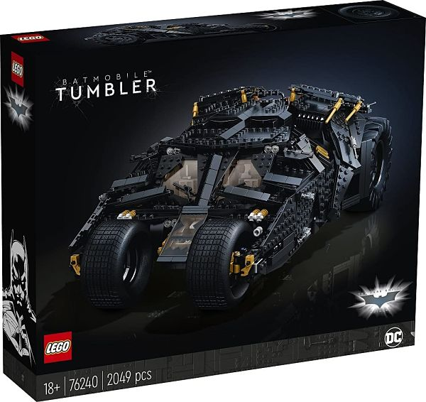 LEGO Batman 76240 Tumbler 2 caja frontal