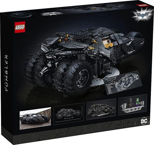 LEGO Batman 76240 Tumbler 2 caja trasera
