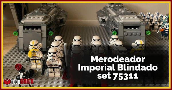 Merodeador Blindado Imperial de LEGO Star Wars 75311
