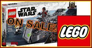 Super oferta lego 75311 transporte imperial blindado