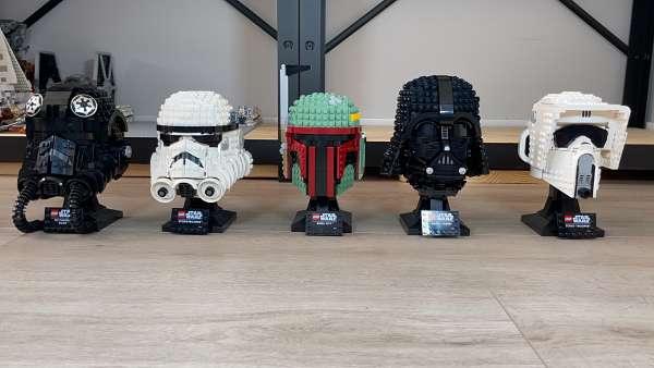 TODOS los cascos de LEGO Star Wars de mejor a peor